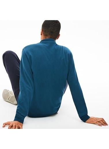 Lacoste Erkek Klasik Fit Sweatshirt L1312.Z3T Mavi